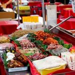 Traditionelle koreanische Märkte